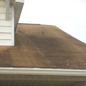 Ugly Roof Stains